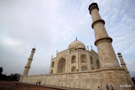 Taj Mahal bliżej