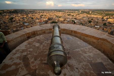 Fort Jaisalmer - zachód
